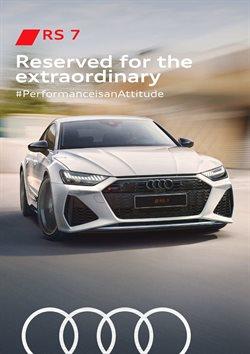 Audi catalogue ( More than a month )