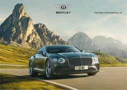 Cars, Motorcycles & Accesories offers in the Bentley catalogue ( More than a month)