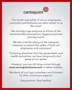 Centrepoint catalogue in Dubai ( 10 days left )