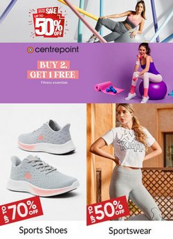 Centrepoint offers in the Centrepoint catalogue ( More than a month)