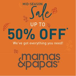 Mamas & Papas offers in the Mamas & Papas catalogue ( 6 days left)