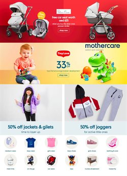Babies, Kids & Toys offers in the Mothercare catalogue ( 2 days left )