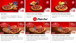 Restaurants offers in the Pizza Hut catalogue in Dubai