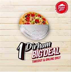 Restaurants offers in the Pizza Hut catalogue in Al Ain ( 9 days left )