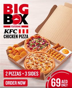 Restaurants offers in the Pizza Hut catalogue in Abu Dhabi ( 8 days left )