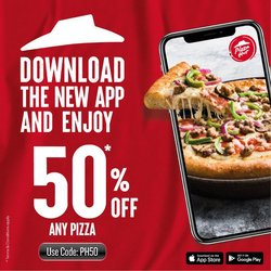 Restaurants offers in the Pizza Hut catalogue ( 30 days left)