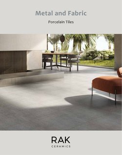 Home & Furniture offers in the Rak Ceramics catalogue ( 21 days left)