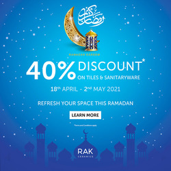 Rak Ceramics coupon ( 6 days left )