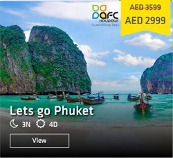 Travel & Leisure offers in the AFC Holidays catalogue in Abu Dhabi ( 4 days left )
