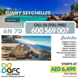 AFC Holidays catalogue in Sharjah ( 2 days left )