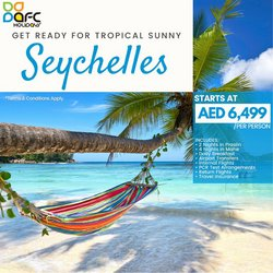 Travel & Leisure offers in the AFC Holidays catalogue ( 4 days left)