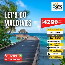 AFC Holidays offers in the AFC Holidays catalogue ( Expires tomorrow)