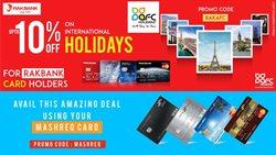 AFC Holidays offers in the Dubai catalogue