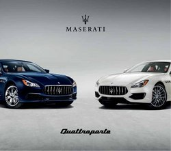 Maserati offers in the Maserati catalogue ( More than a month)