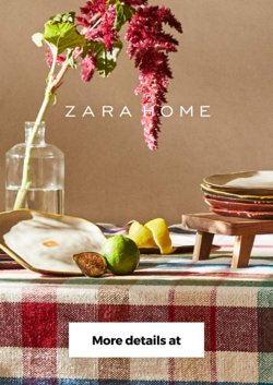 Zara Home offers in the Zara Home catalogue ( 24 days left)