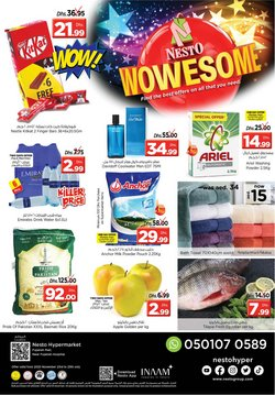 Groceries offers in the Nesto catalogue in Fujairah ( Expires tomorrow )