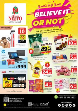 Groceries offers in the Nesto catalogue ( Expires today)