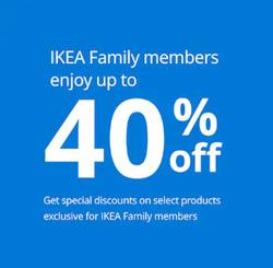 Ikea coupon in Al Ain ( 6 days left )