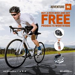 Sport offers in the Adventure HQ catalogue ( Expires tomorrow )