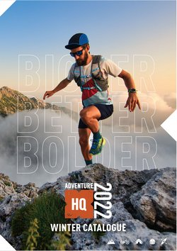 Sport offers in the Adventure HQ catalogue ( More than a month)