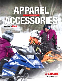 Cars, Motorcycles & Accesories offers in the Yamaha catalogue ( 1 day ago )