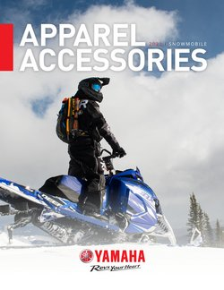Yamaha offers in the Yamaha catalogue ( More than a month)