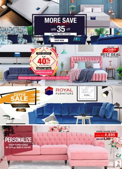 Home & Furniture offers in the Royal Furniture catalogue in Ajman ( 2 days ago )