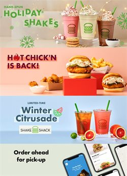 Shake Shack catalogue ( 2 days ago )
