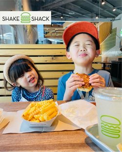 Restaurants offers in the Shake Shack catalogue ( More than a month)