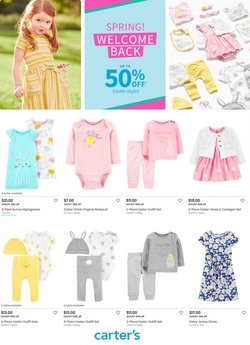 Babies, Kids & Toys offers in the Carters catalogue ( 18 days left )