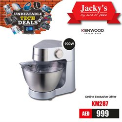 Technology & Electronics offers in the Jacky's Electronics catalogue in Dubai