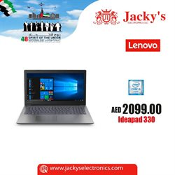 Technology & Electronics offers in the Jacky's Electronics catalogue in Ajman