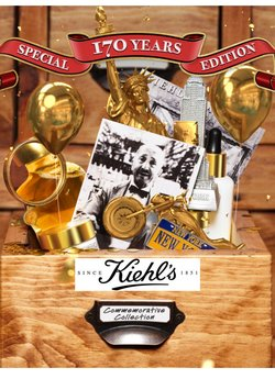 Kiehl's offers in the Kiehl's catalogue ( More than a month)