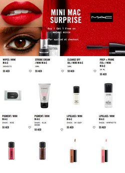 MAC Cosmetics catalogue ( More than a month)