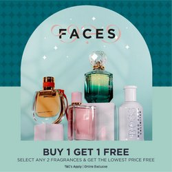 Department Stores offers in the Faces catalogue ( 27 days left )