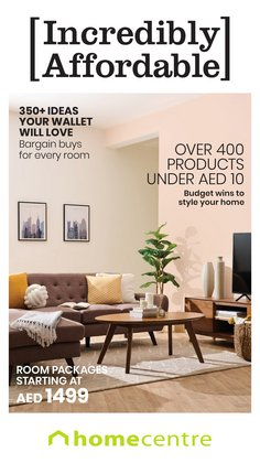 Home & Furniture offers in the Home Centre catalogue ( 22 days left)