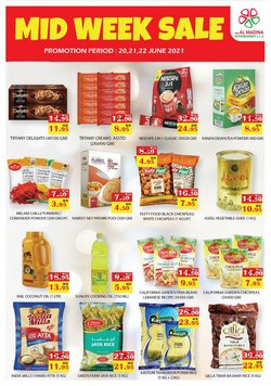 Groceries offers in the Al Madina catalogue ( Expires today)