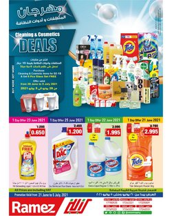 Groceries offers in the Ramez catalogue ( Published today)