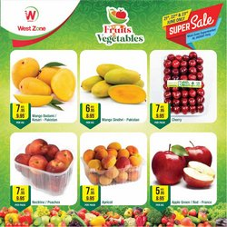 Groceries offers in the West Zone Fresh catalogue ( Expires tomorrow)