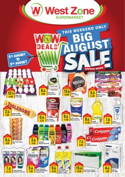 Groceries offers in the West Zone Fresh catalogue ( Published today)