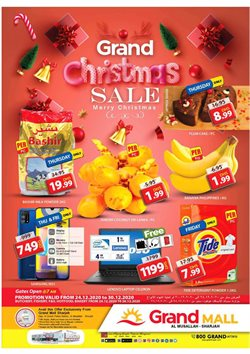 Groceries offers in the Grand Hyper catalogue in Abu Dhabi ( 3 days left )
