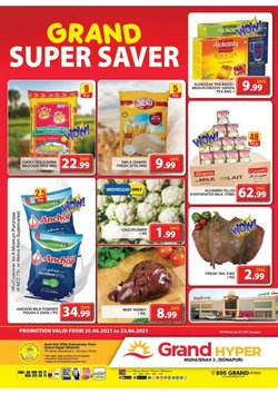 Groceries offers in the Grand Hyper catalogue ( Expires tomorrow)