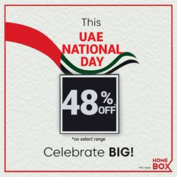 Home & Furniture offers in the Home Box catalogue in Sharjah