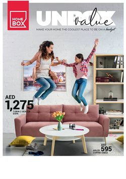 Home & Furniture offers in the Home Box catalogue in Mussafah ( 23 days left )