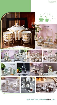 Offers of Tea in Home Box