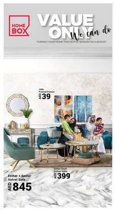 Home & Furniture offers in the Home Box catalogue ( 7 days left)