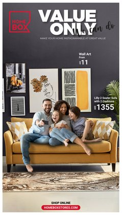 Home Box offers in the Home Box catalogue ( 2 days left)