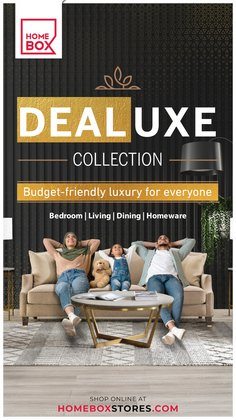 Home & Furniture offers in the Home Box catalogue ( 29 days left)