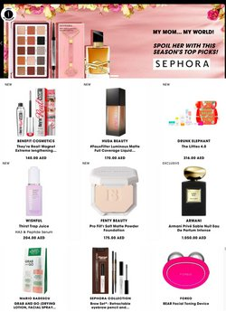 Sephora catalogue in Ajman ( Expires today )
