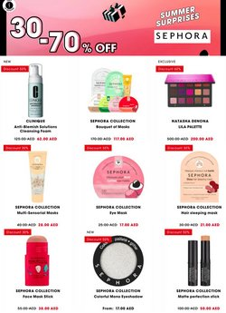 Sephora offers in the Sephora catalogue ( 30 days left)